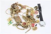 Sale 8757 - Lot 60 - Bag Of Costume Jewellery