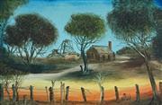 Sale 8867 - Lot 525 - Kevin Charles (Pro) Hart (1928 - 2006) - Farmstead 28 x 43.5 cm