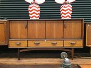 Sale 8859 - Lot 1044 - G-Plan Fresco Teak Sideboard with Concertina Doors