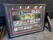 Sale 9028 - Lot 2053 - Framed Wanderers Poster
