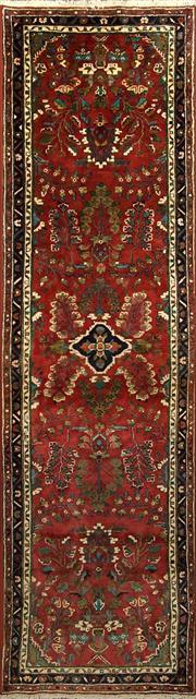 Sale 8360C - Lot 43 - Persian Hamadan 304cm x 86cm