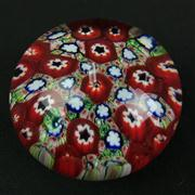 Sale 8402D - Lot 53 - Murano Millefiori Paperweight (Height - 5.5cm)