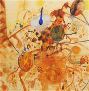 Sale 8713 - Lot 535 - John Olsen (1928 - ) - Little Universe of the Sous Chef 82 x 78cm