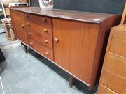 Sale 8859 - Lot 1045 - Younger Aformosa Teak Sideboard