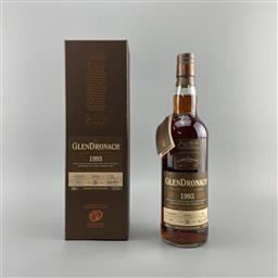 Sale 9142W - Lot 1044 - 1993 The Glendronach Distillery Cask Bottling 26YO Highland Single Malt Scotch Whisky - distilled 12/02/1993, bottled 2019, bottle...