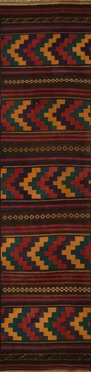 Sale 8424C - Lot 86 - Persian Kilim Runner 280cm x 60cm