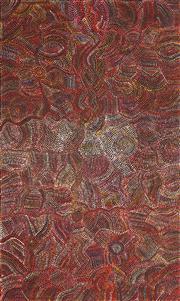Sale 8642A - Lot 5041 - Joy Pitjara (1962 - ) - Yam Seeds 154 x 92cm
