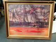 Sale 8678 - Lot 2093 - Artist Unknown - The Rangers Decorative Print, 54.5 x 70cm, unsigned