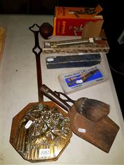 Sale 8668 - Lot 2082 - Collection of Sundries incl Scissors, Thermometer Mincer etc