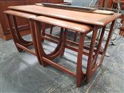 Sale 8839 - Lot 1071 - G-Plan Teak Nest of Three Tables