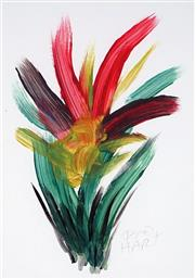 Sale 8870A - Lot 565 - Kevin Charles (Pro) Hart (1928 - 2006) - Floral Study 30 x 20 cm