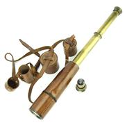 Sale 8314 - Lot 15 - Broadhurst Clarkson & Co Three Draw Telescope