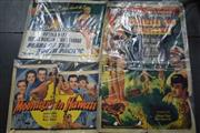 Sale 8310 - Lot 1074 - Vintage South Pacific Movie Posters - White Savage, Moonlight in Hawaii & Pearl of the Pacific (3)