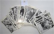 Sale 8404S - Lot 95 - Sun Footy Cards (50/50) from 1967 includes all of the above cards plus Monty Porter (Cronulla) and Mike Cleary (Souths). A FULL SET!