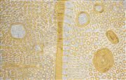 Sale 8550H - Lot 10 - Yinarupa Nangala (c1955 - ) - Ngaminya 153 x 97cm (stretched & ready to hang)