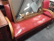 Sale 8676 - Lot 1089 - Art Deco 3Three Seater Lounge