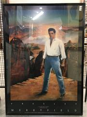 Sale 8776 - Lot 2049 - Large Print of Elvis