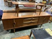 Sale 9002 - Lot 1086 - Beautility Teak Sideboard with Concertina Doors (h:74 x w:200 x d:43cm)