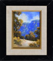 Sale 8349A - Lot 102 - Michael Taylor (1939 - ) - The Bush Stroll 15 x 10cm