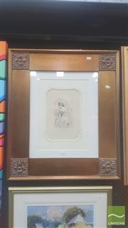 Sale 8446 - Lot 2005 - Pierre-Auguste Renoir (1841 - 1919) - Baigneuse Debout 17 x 10.5cm
