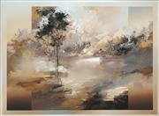 Sale 8504 - Lot 549 - David Voigt (1944 - ) - Landscape 128.5 x 99cm