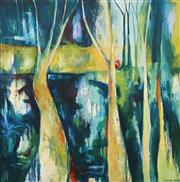 Sale 8518 - Lot 2012 - Sophie Miles - Through the Trees 156 x 155cm