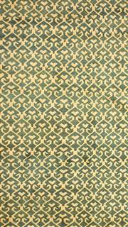 Sale 8626A - Lot 173 - A Cadrys Turkish Vintage Oushak Handspun Wool Carpet, Size; 300x228cm, RRP; $200