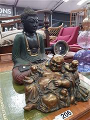 Sale 8724 - Lot 1038 - 2 Buddhas