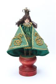 Sale 8748 - Lot 75 - An Infant of Prague/Santo Nino Doll Figure