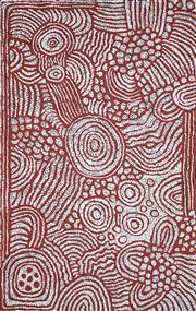 Sale 8773 - Lot 571 - Marlene Young Nungurrayi (1973 - ) - Minyma Tjukurrpa 153 x 96cm
