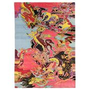 Sale 8915C - Lot 1 - Nepal Rug Star Collection Dragon Design, Multi, made in Tibetan Highland wool 305x215cm