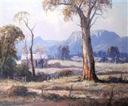 Sale 9002A - Lot 5006 - Leon Hansen (1918 - 2011) - Capertee Valley, NSW 49.5 x 59 cm