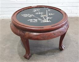 Sale 9129 - Lot 1090 - Chinese Round MOP Inlayed Table