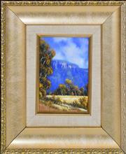 Sale 8349A - Lot 103 - Michael Taylor (1939 - ) - The Escarpment 15 x 10cm