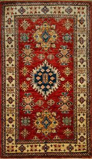 Sale 8406C - Lot 67 - Afghan Super kazak 164cm x 95cm