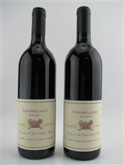 Sale 8439W - Lot 753 - 2x 1995 Frankland Estate Isolation Ridge Shiraz, Great Southern