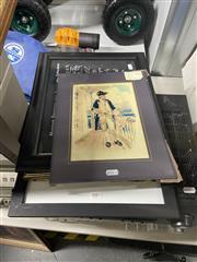 Sale 8995 - Lot 2082 - Collection of Pictures incl. Prints, Museum Boymans-van Beuningen Rotterdam Textile, Admiral, Chromolithograph; etc