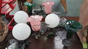 Sale 8404 - Lot 1053 - Collection of 7 Small Table Lamps
