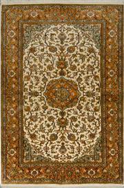 Sale 8418C - Lot 38 - Kashmiri Silk 125cm x 185cm