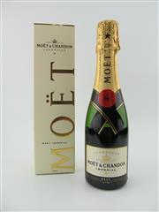 Sale 8423 - Lot 668 - 1x NV Moet et Chandon Brut Imperial, Champagne - 200ml piccolo in box