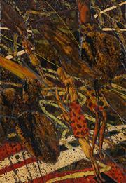 Sale 8433 - Lot 2049 - Geoff Dixon (1954 - ) - Moon Figure, 1993 40 x 29cm