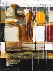 Sale 8704A - Lot 5033 - Suzanne Metz - Split Personality 61 x 45.5cm