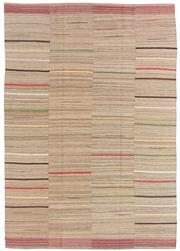 Sale 8725C - Lot 2 - A Persian Mazandaran Kilim Carpet, Hand-knotted Wool, 283x205cm, RRP $4,950