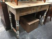 Sale 8822 - Lot 1716 - Shabby Chic Hall Table with a Single Drawer