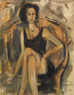 Sale 9118A - Lot 5042 - Pham Luc (1943 - ) - Korean Girl, 1995 92 x 74 cm