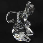 Sale 8399A - Lot 6 - Daum Crystal Elephant Figure
