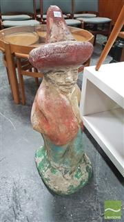 Sale 8395 - Lot 1062 - Retro Mexican Garden Statue