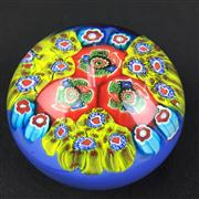 Sale 8402D - Lot 56 - Murano Millefiori Paperweight (Height - 6cm)
