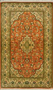 Sale 8418C - Lot 39 - Kashmiri Silk 159cm x 96cm
