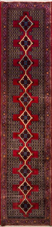 Sale 8447C - Lot 92 - Persian Bidjar 405cm x 95cm